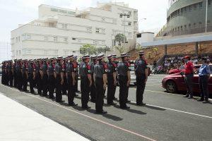 Seguridad y Emergencias forma a los agentes de la Policía Canaria
