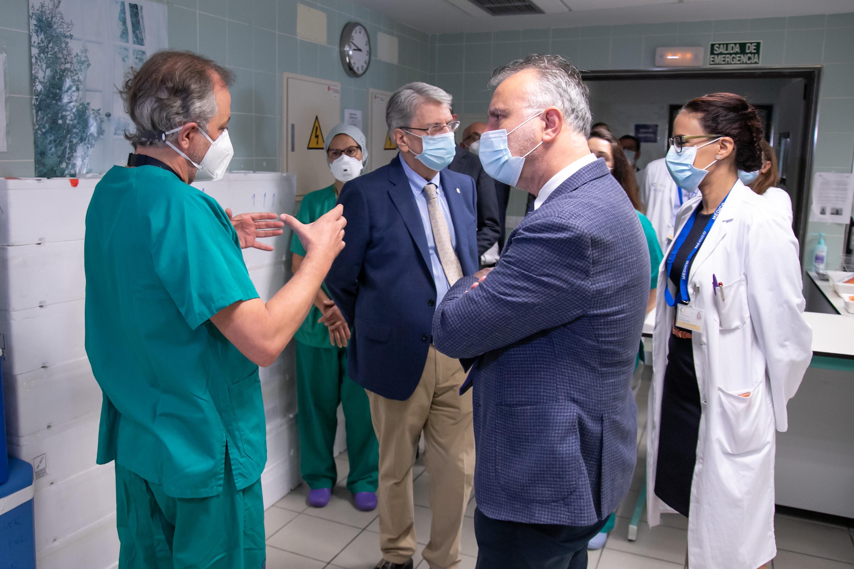 Visita al Hospital de La Candelaria