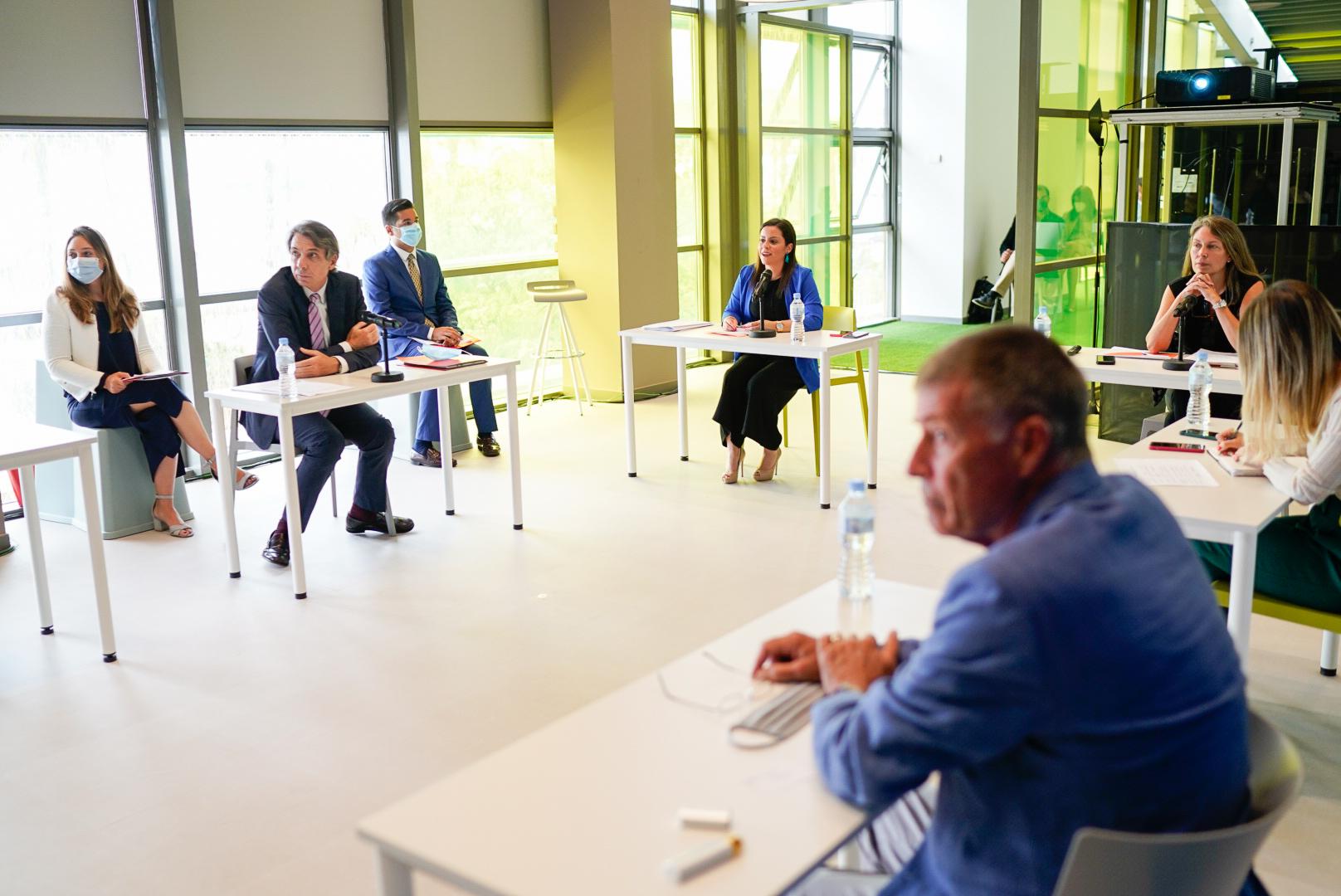 Presentación ante el pleno del Consejo Canario de Turismo.