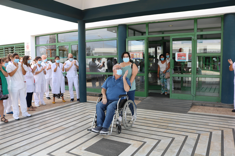 El último paciente COVID-19 de Lanzarote recibe el alta