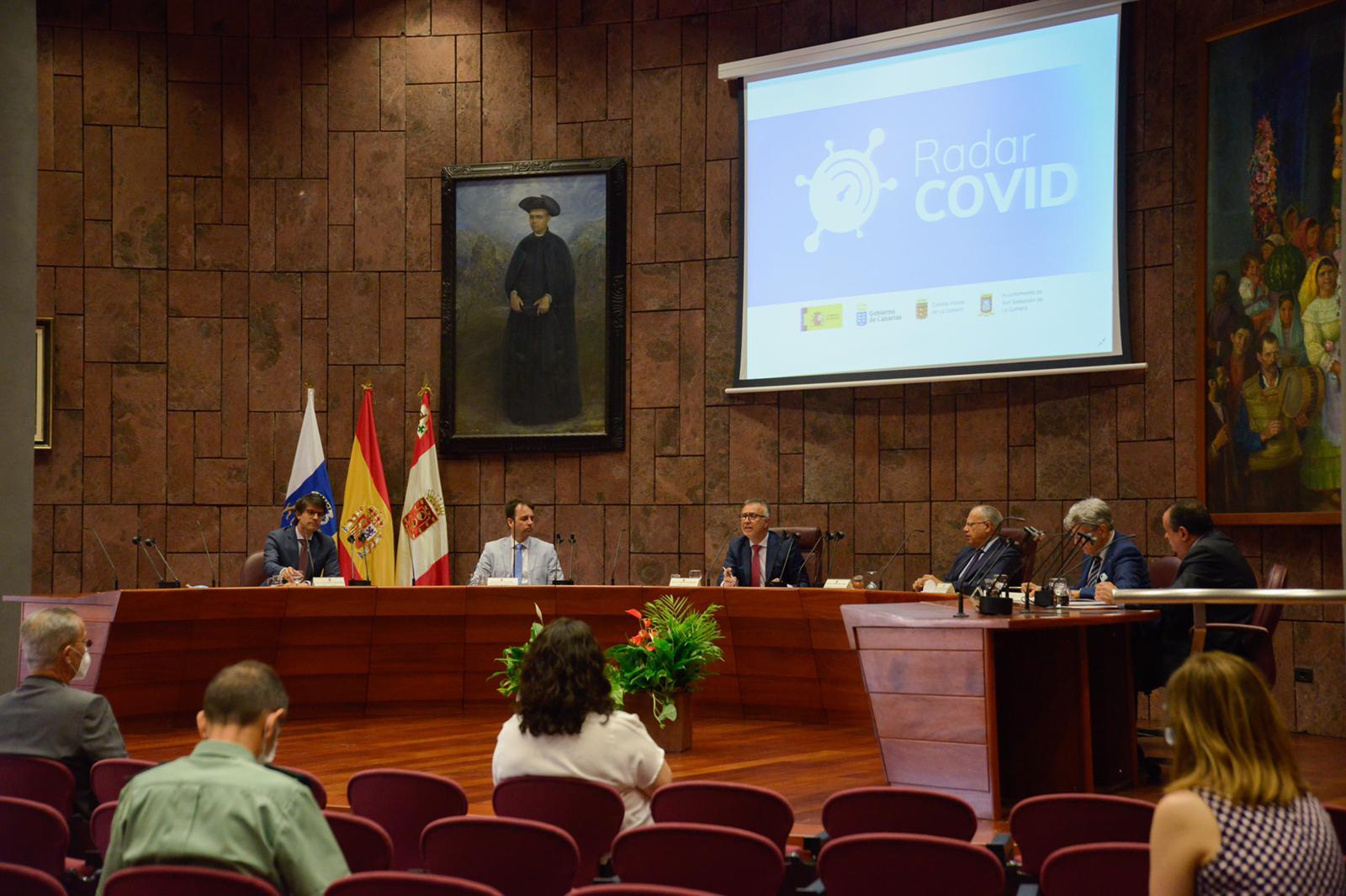 presentación app Radar Covid - Canarias