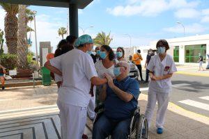 Momento del alta hospitalaria