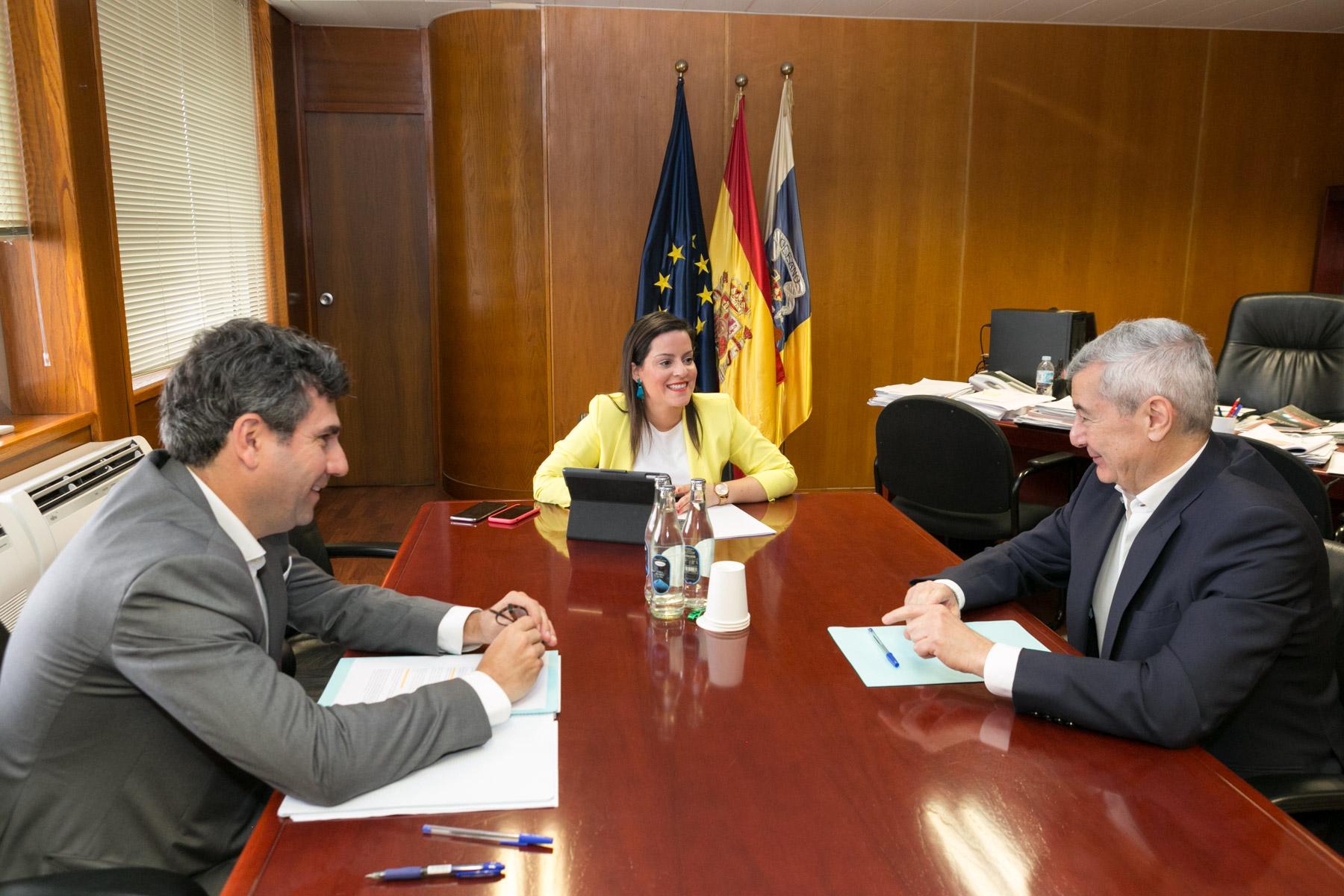 Reunión con el secretario general de Fauca.