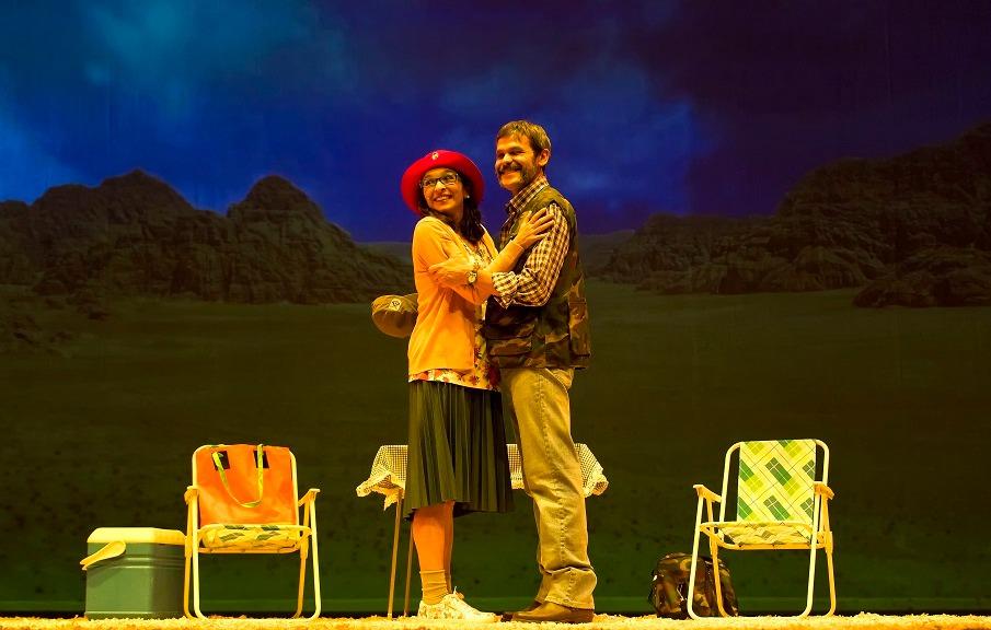 Severiano y Soraya en una escena de Arizona