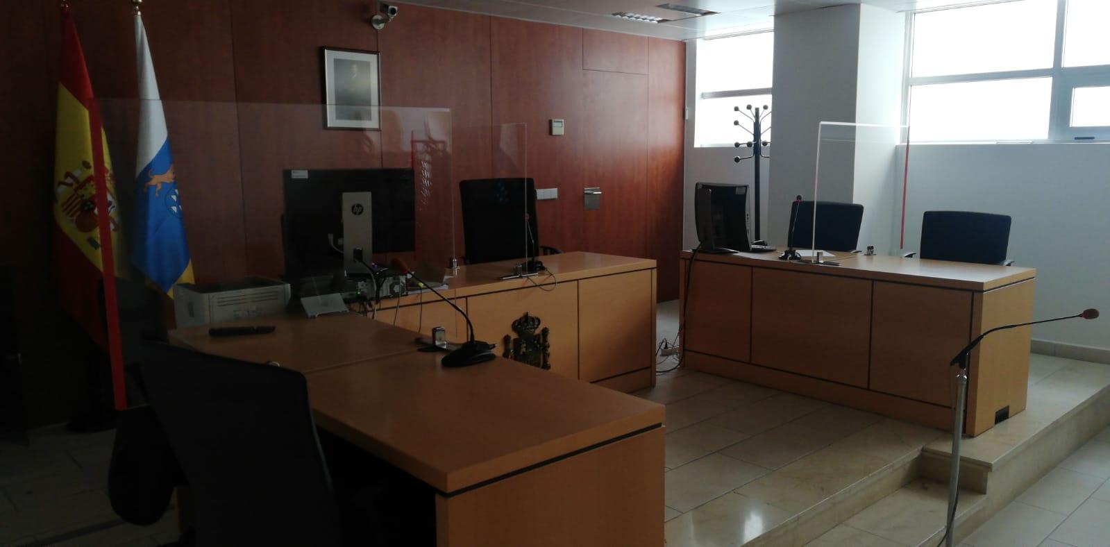 Reincorporación del 100% del personal a las sedes y órganos judiciales de Canarias