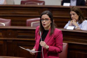 Yaiza Castilla en el Parlamento