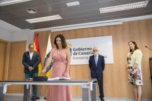 Isabel León, secretaria general técnica de la Consejería