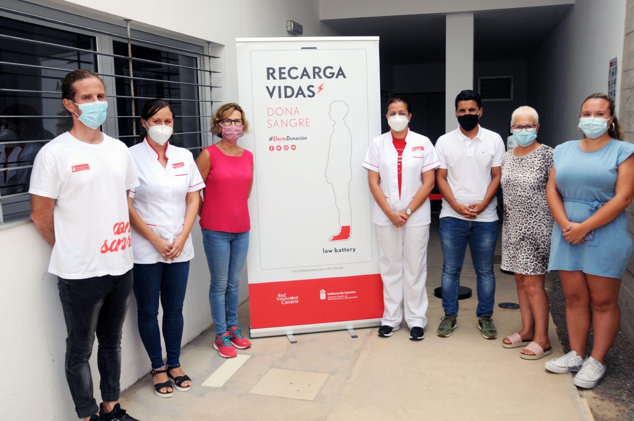 El ICHH promueve la donación en el sur de Gran Canaria con una sala de extracción en San Fernando de Maspalomas