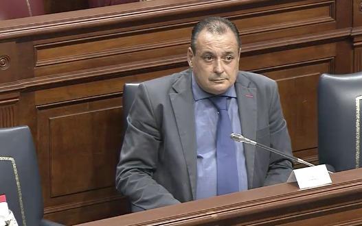 Blas Trujillo en el Parlamento