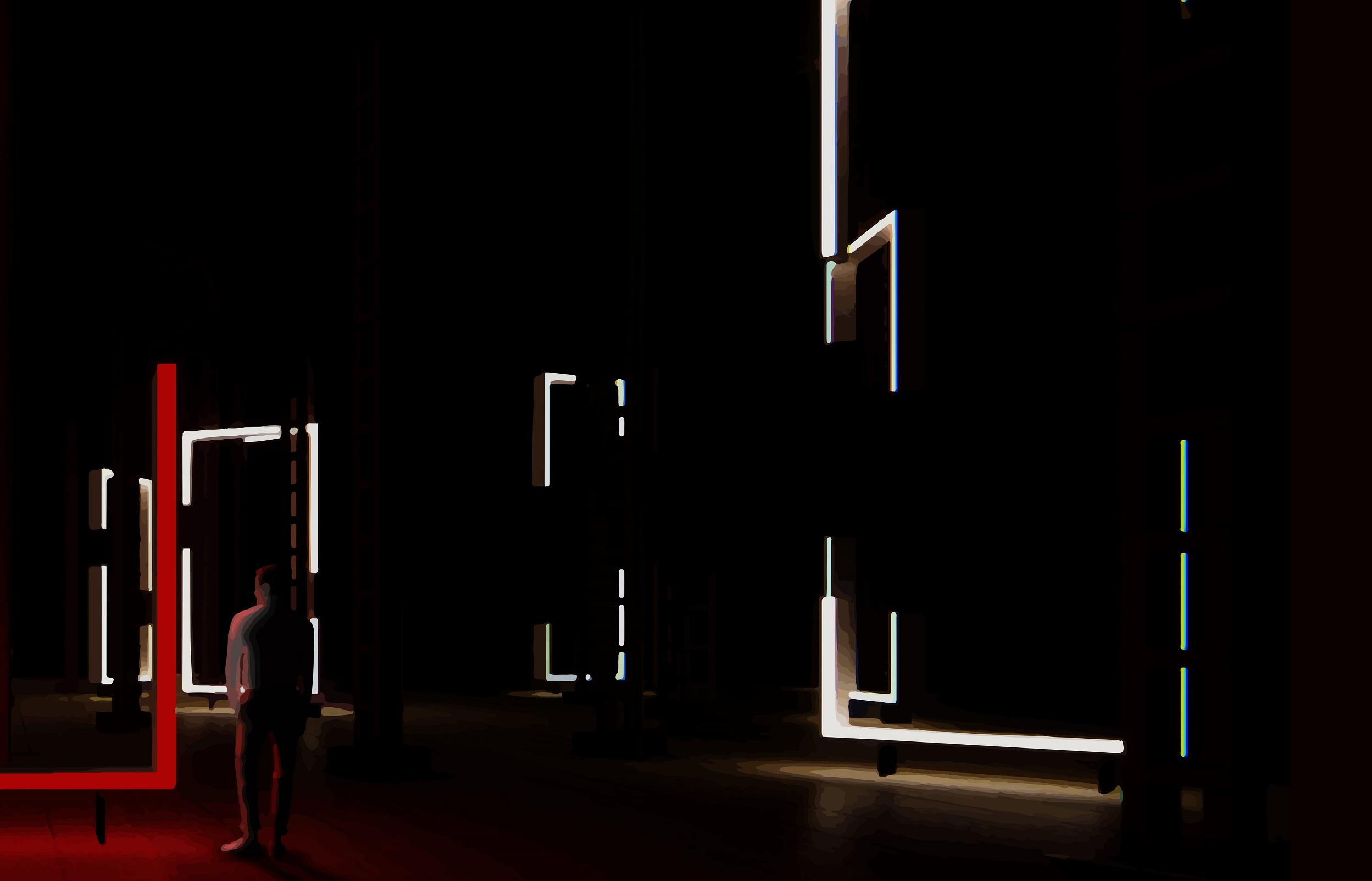 La luz y las formas dan vida a la nueva propouesta artística para el Espacio Cultural El Tanque