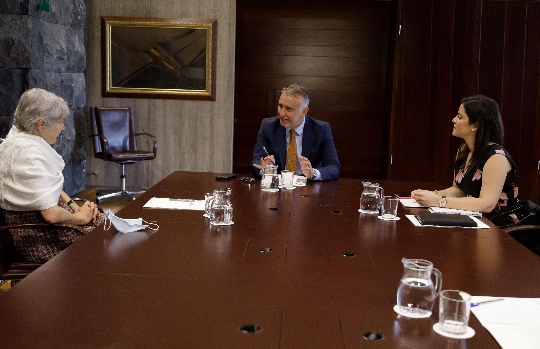 Reunión con la CEO de Riu