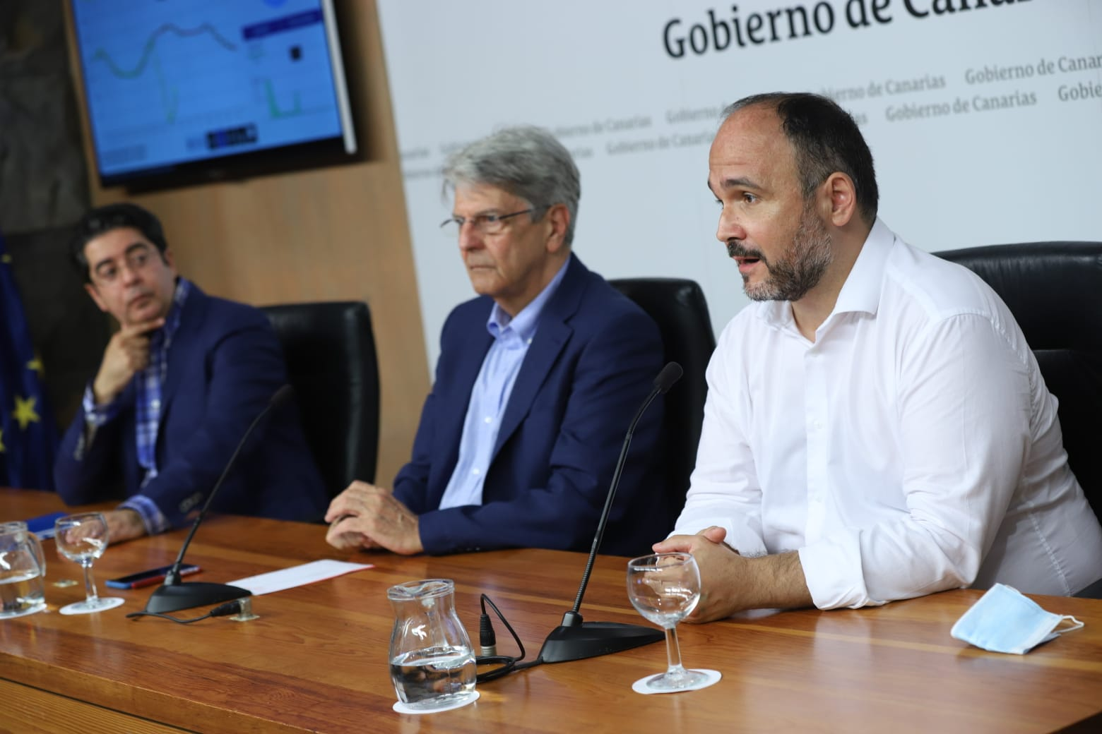Rueda de prensa cero energético - Tenerife