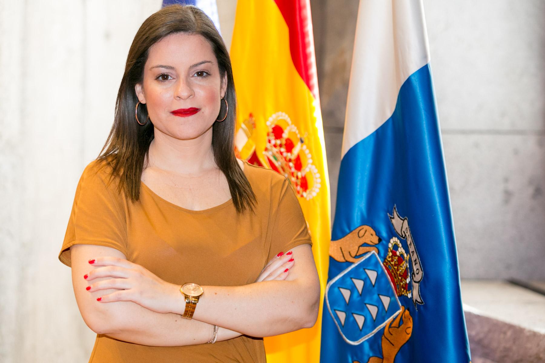 La consejera Yaiza Castilla.