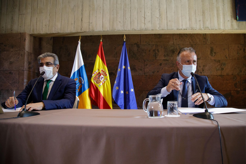 Mesa del Plan de Reactivación Social y Económico de Canarias