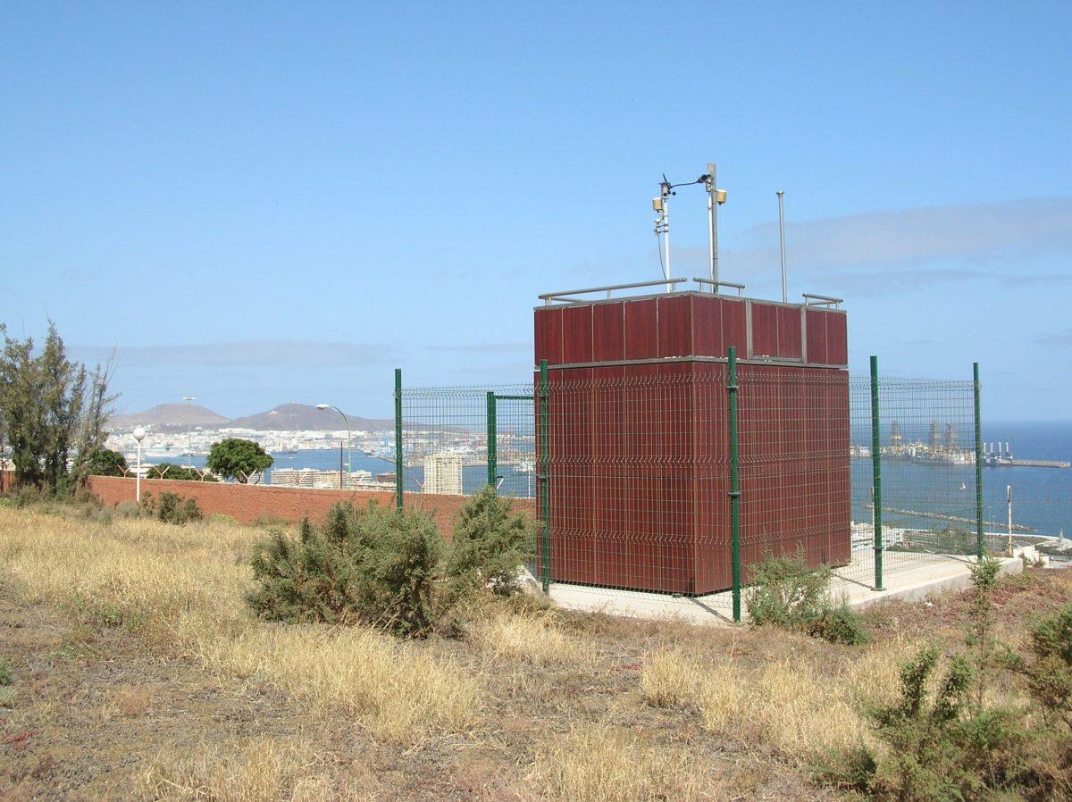 Estación de medición calidad del aire