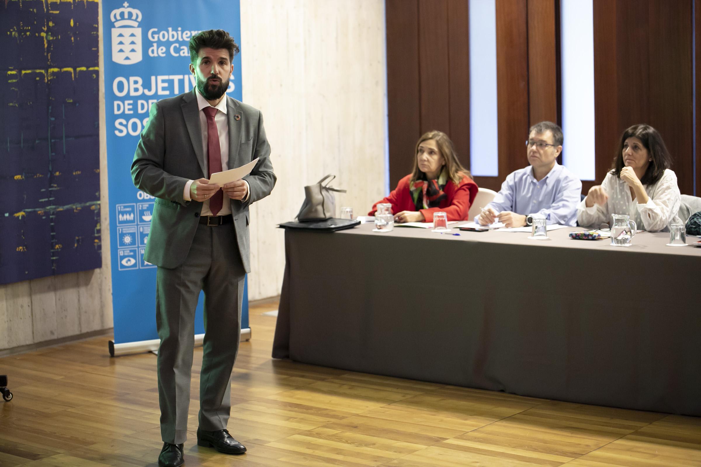 David Padrón, director general de Investigación y Coordinación del Desarrollo Sostenible del Gobierno de Canarias