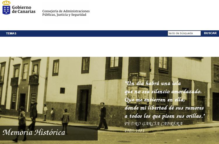 La Comisión de Memoria Histórica se reunirá en septiembre tras el nombramiento de sus integrantes