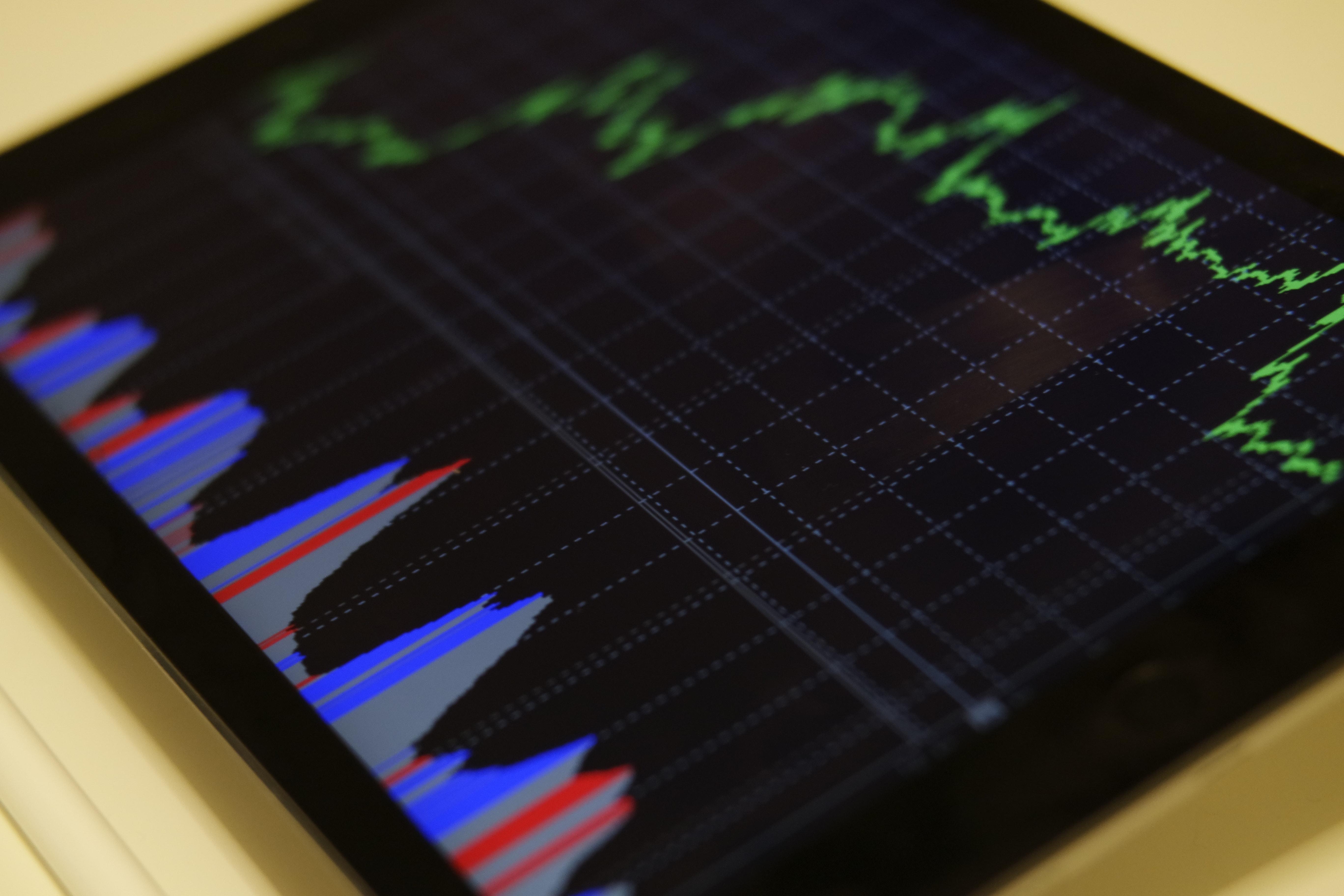 Gráficos en tablet
