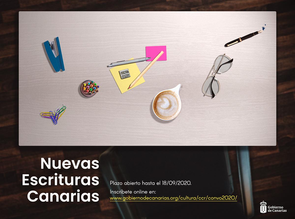 Certamen literario Nuevas Escrituras Canarias 2020