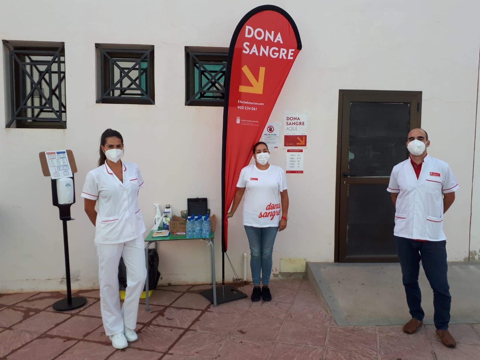 Un equipo del ICHH se desplaza a Fuerteventura para atender a la población donante de la Isla