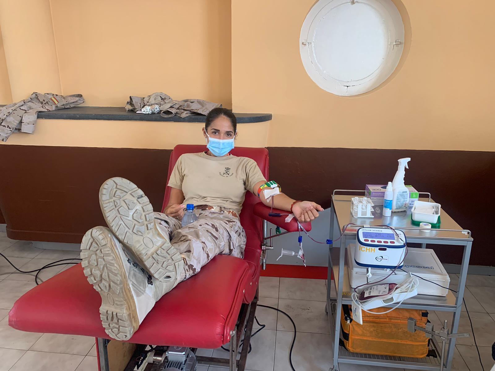 El ICHH agradece a la Base Naval de Las Palmas su compromiso con la donación de sangre