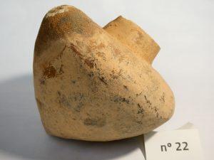 Pieza cerámica aborigen