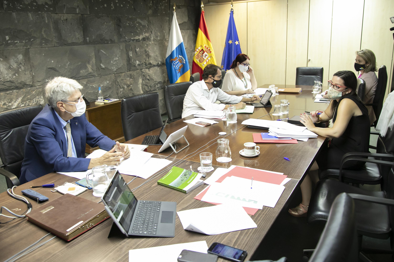 Consejo de Gobierno, reunión en Tenerife