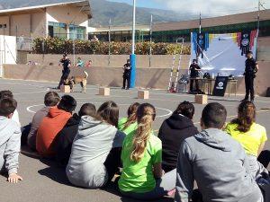 La La Policía Canaria perfecciona las técnicas investigación del delito