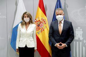 Reunión de Ángel Víctor Torres con la ministra de Trabajo