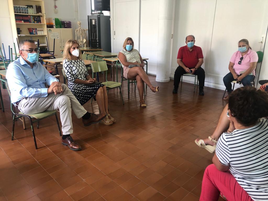 Acuerdo en Porís de Abona para solucionar la falta de espacio del CEIP Virgen de Fátima