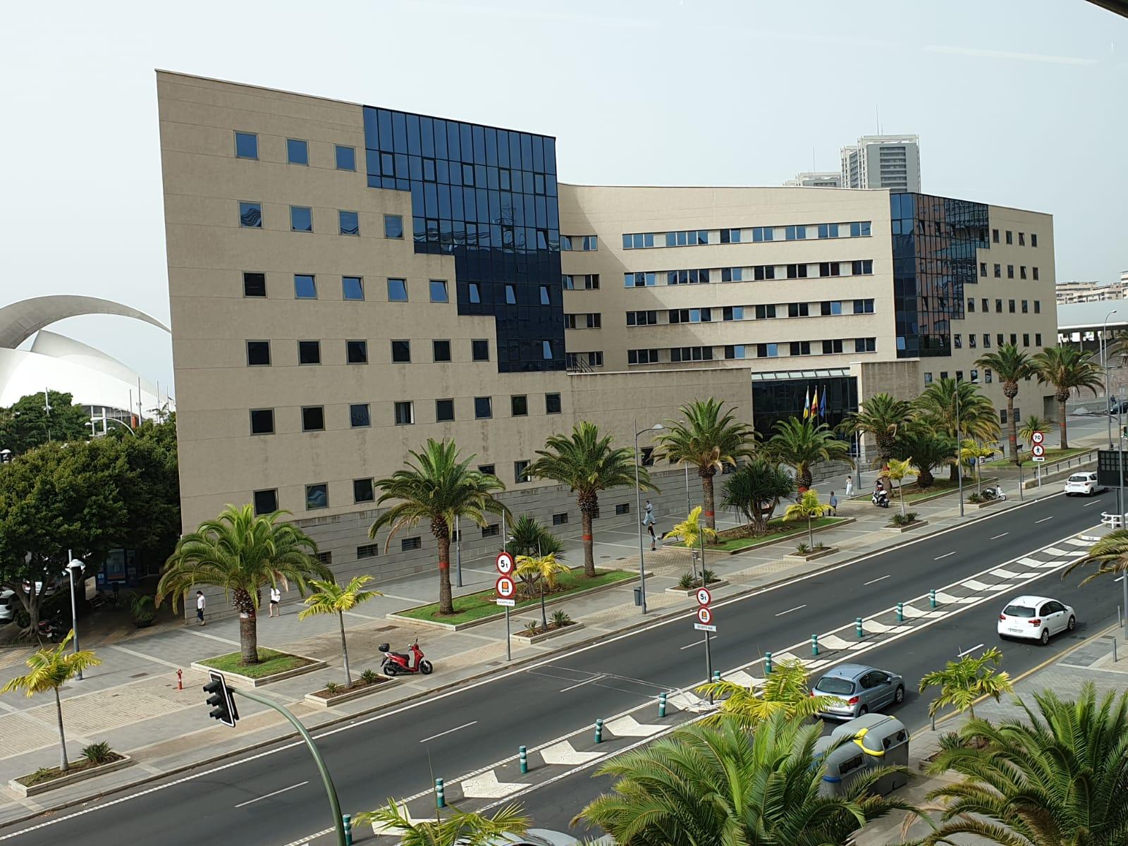 Sede judicial de Santa Cruz de Tenerife