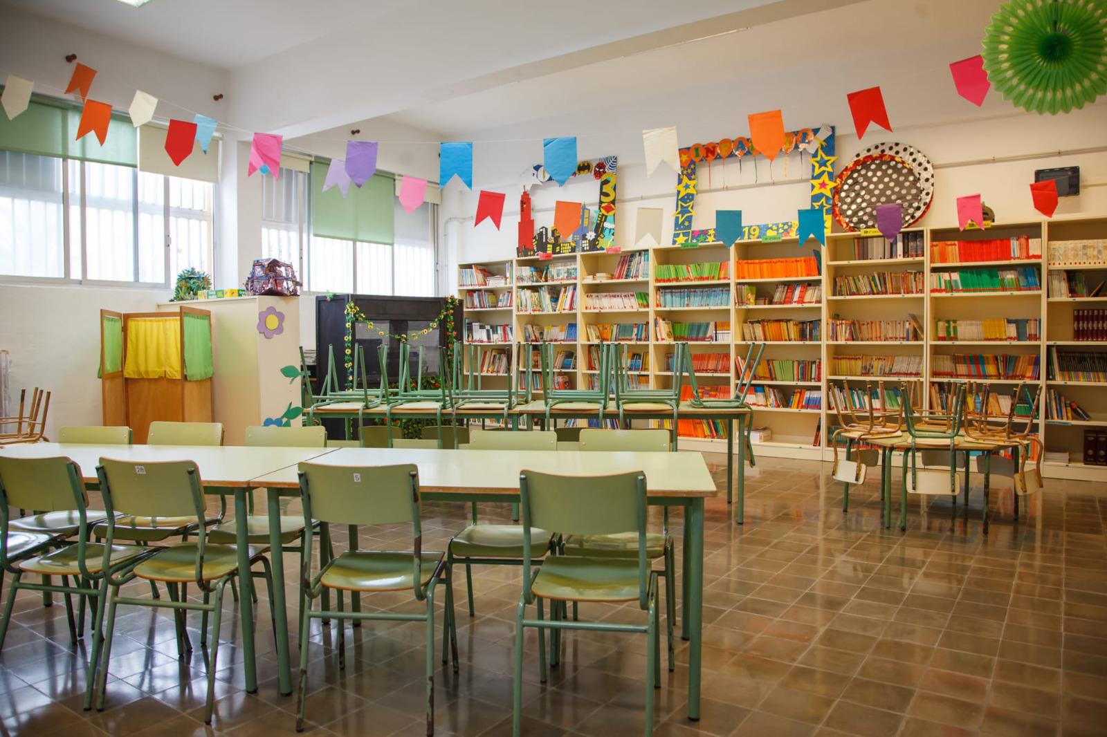 De los 586 colegios públicos de Canarias, solo 22 aplazan el inicio de la actividad lectiva hasta la próxima semana
