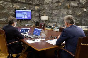 """Torres reclama a la UE un """"marco común"""" que permita reactivar el turismo seguro en regiones RUP como Canarias"""""""