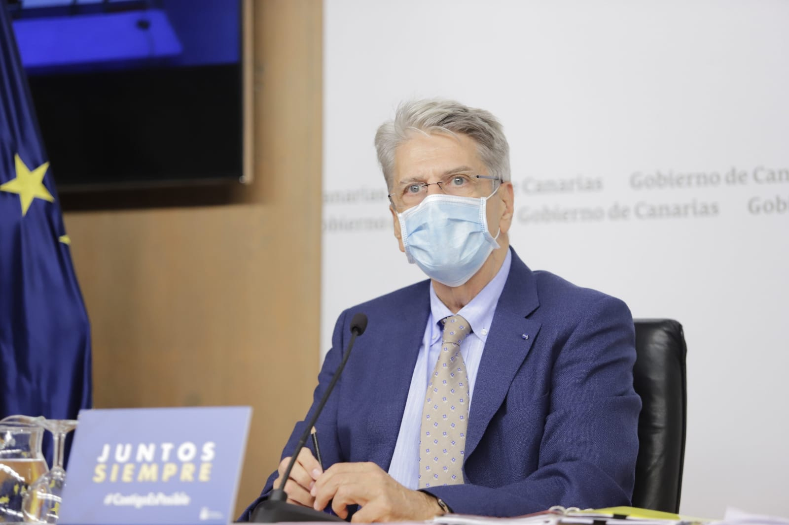 Julio Pérez, portavoz del Gobierno de Canarias