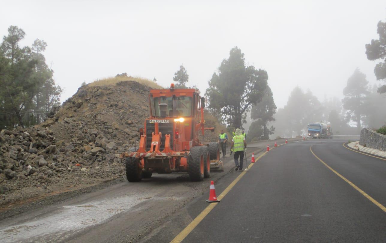 Obras Públicas saca a licitación la obra de mejora de la carretera entre Tijarafe y La Punta por 60 millones