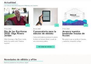 Nuevo portal web Biblioteca de Canaria