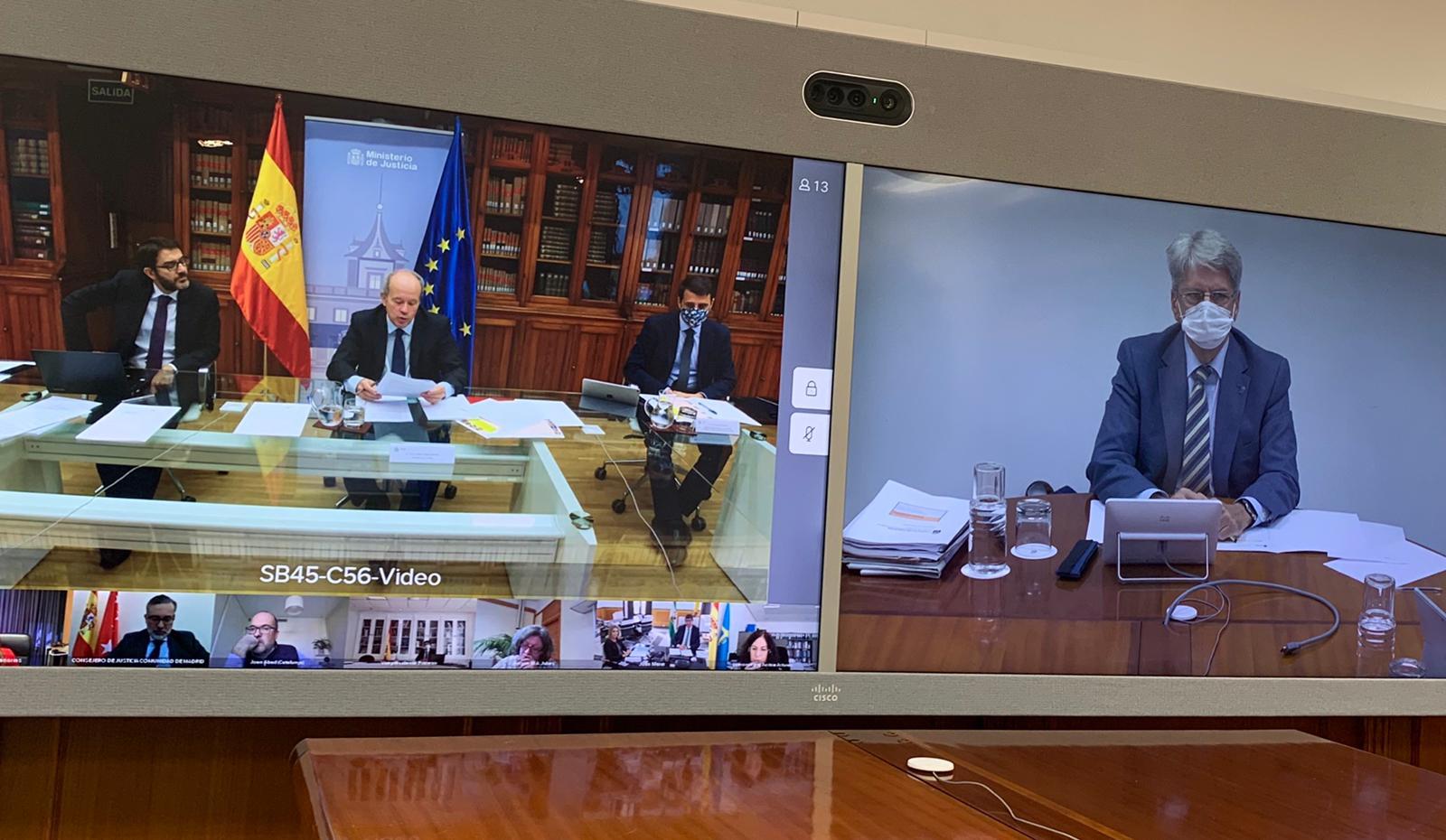 Canarias propone intensificar la formación digital de funcionarios y profesionales de la Justicia