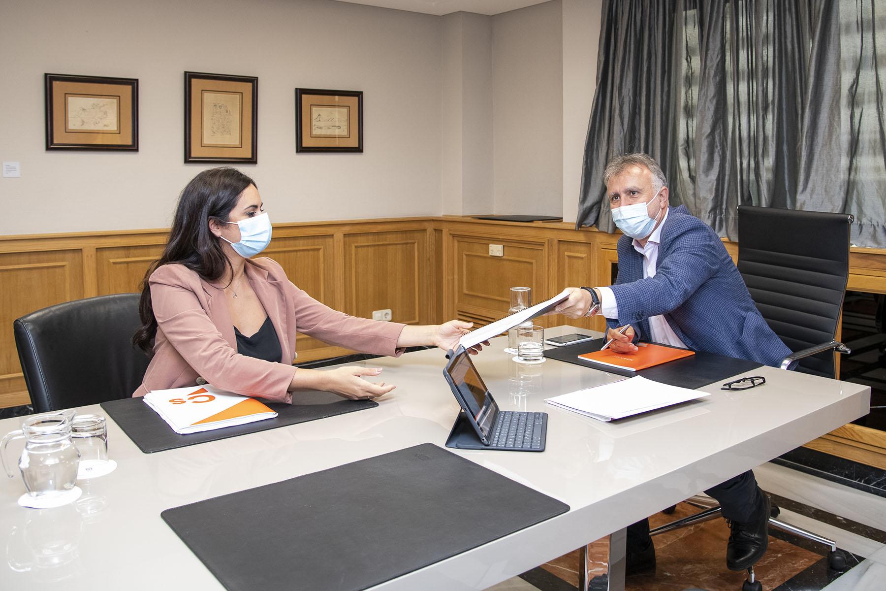 Reunión con Ciudadanos