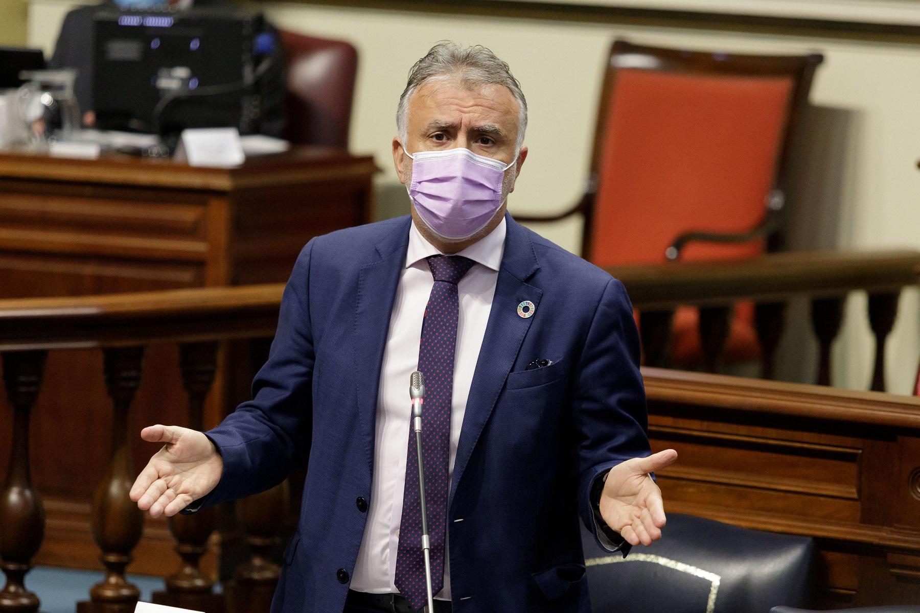 """Torres subraya que """"no hay fisuras"""" respecto a la migración: """"Las Islas no serán cárcel ni muro de Europa"""""""