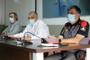 El director de Seguridad y Emergencias, Gustavo Armas, inauguró el curso policías nuevo ingreso