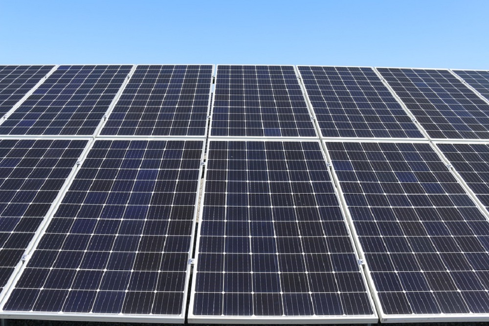 Placas de energía fotovoltaica