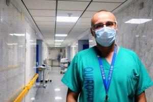 Marco Figueira, neumólogo del Hospital de La Candelaria