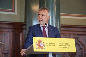 Comparecencia del presidente de Canarias.