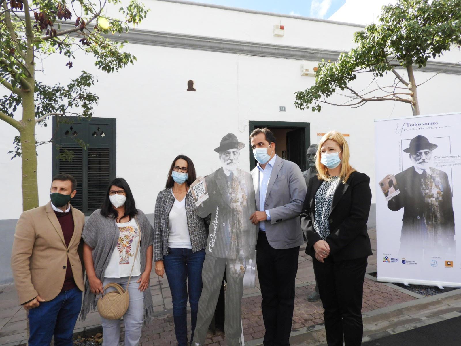 Presentación campaña 'Todos somos Unamuno'..