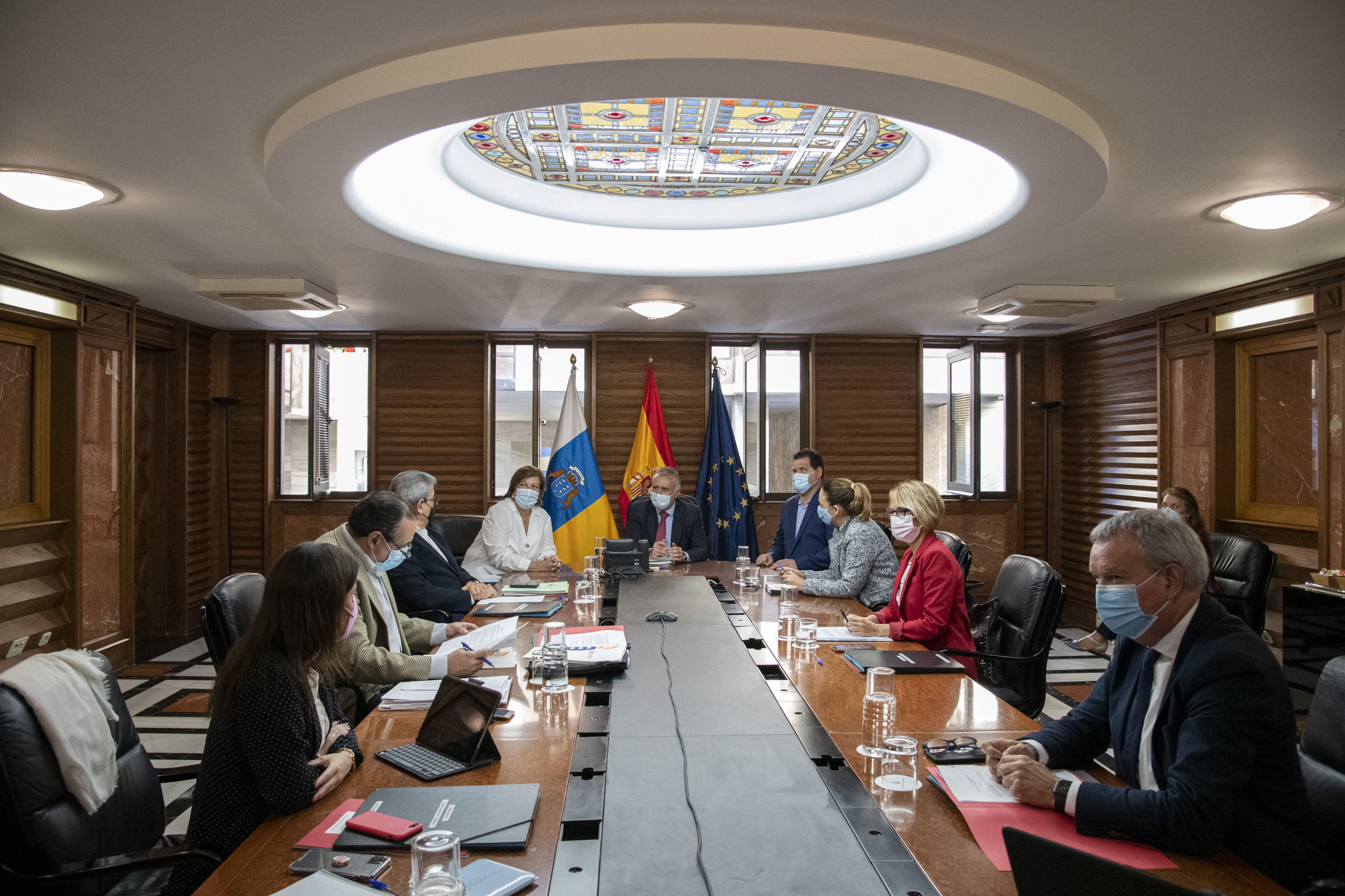 El Gobierno de Canarias reunido con representantes de Cermi