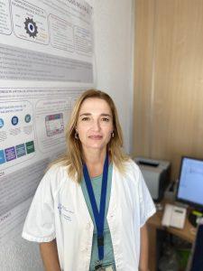 Pilar Díaz, facultativo del servicio de Farmacia