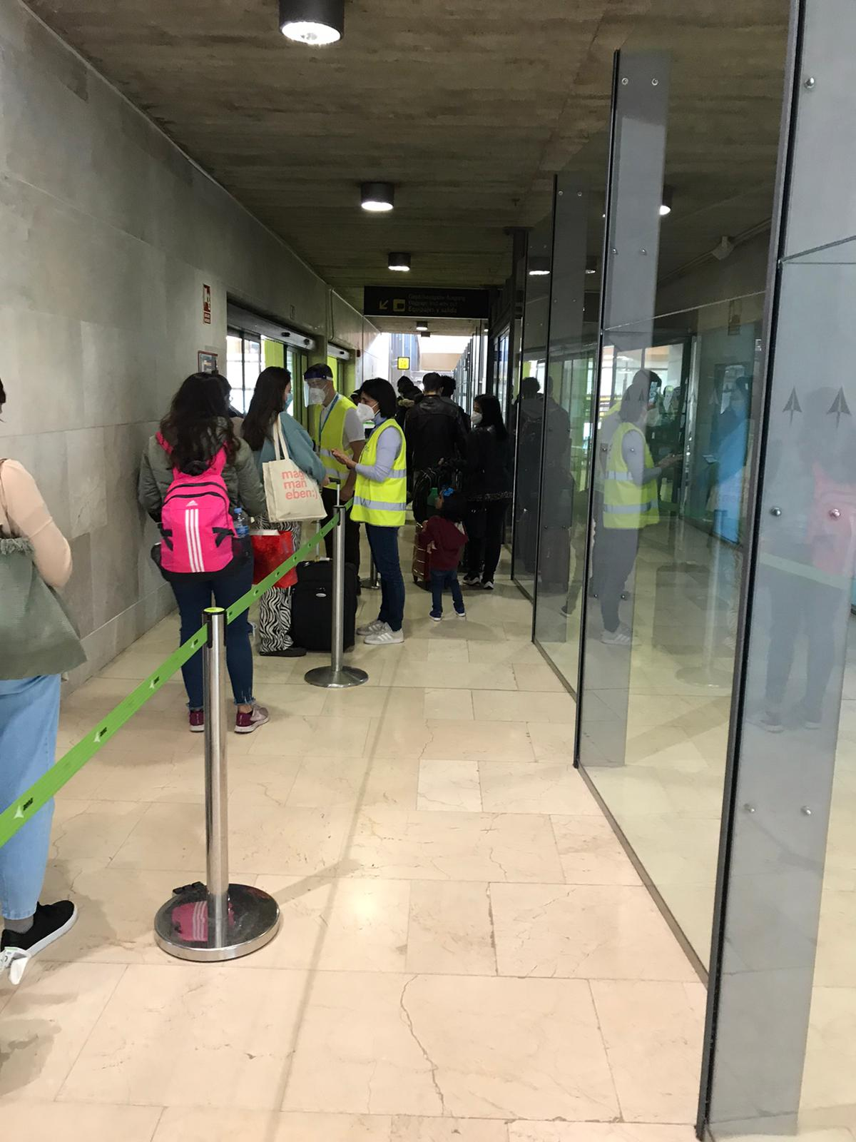 PCR aeropuertos