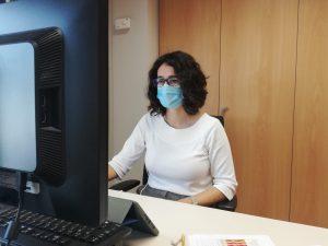 La doctora en Medicina Preventiva, Eva Álvarez, durante el Encuentro