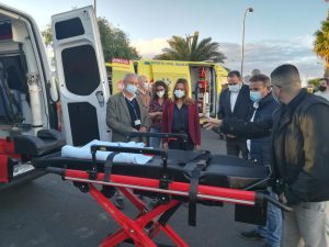 Nuevas ambulancias del SUC