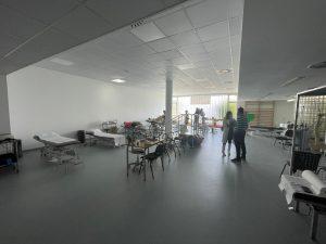 Sala de Fisioterapia del Hospital General de La Palma